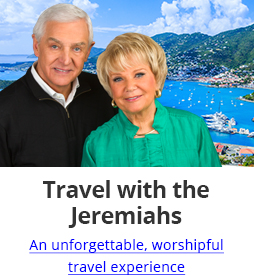 Travel with the Jeremiahs - an unforgettable, worshipful travel experience