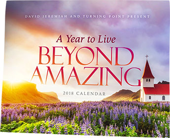 A Year to Live Beyond Amazing - 2018 Turning Point Calendar