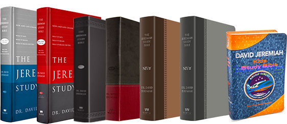 Special Pricing for the Jeremiah Study Bible and Airship Genesis lines