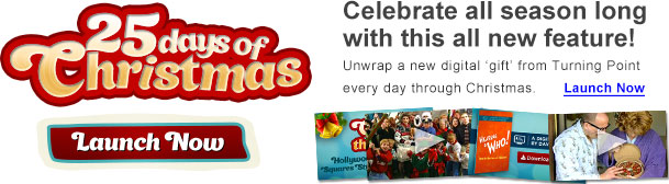 25 Days of Christmas - Celebrate all season long with this all new feature!