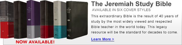 The Jeremiah Study Bible - Available in Six Cover Styles