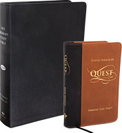 The Jeremiah Study Bible with Quest