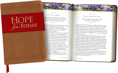 Hope for Today, new 365-day daily devotional