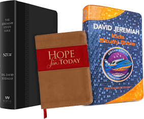 Hope for Today, Jeremiah Study Bible and Airship Genesis Bible