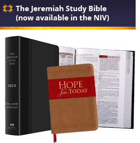 Jeremiah Study Bible and Hope for Today