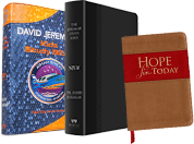 The Jeremiah Study Bible + Airship Genesis Bible + Hope for Today