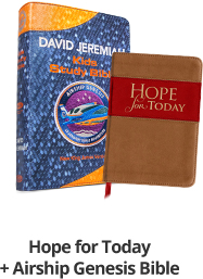 Airship Genesis Kids Study Bible & Hope for Today