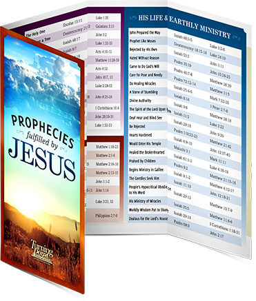 Prophecies Fulfilled by Jesus Fold-Out Chart
