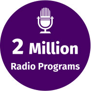 2 Million Radio Programs