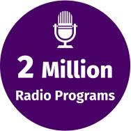 2 Million Radio Programs