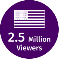 2.5 Million Viewers