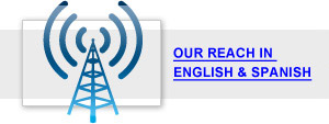Our Reach in English and Spanish