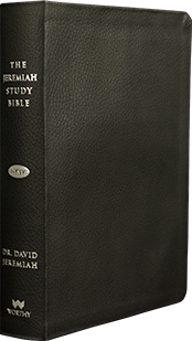 Jeremiah Study Bible - Black Genuine Leather