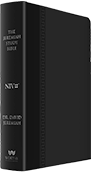 Jeremiah Study Bible - Black Soft-Touch Leather Luxe (NIV)