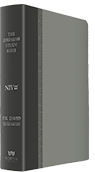 Jeremiah Study Bible - Gray Soft-Touch Leather Luxe (NIV)