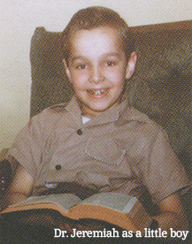 Dr. Jeremiah as a little boy