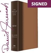 Signed Brown Leather Luxe