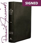 Signed Black Genuine Leather