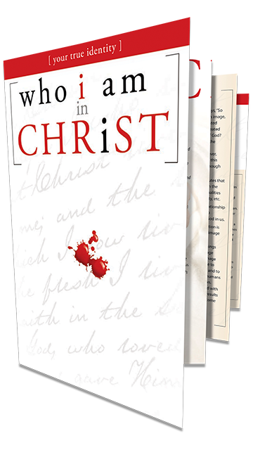 Who I Am In Christ<br />Fold-Out Booklet