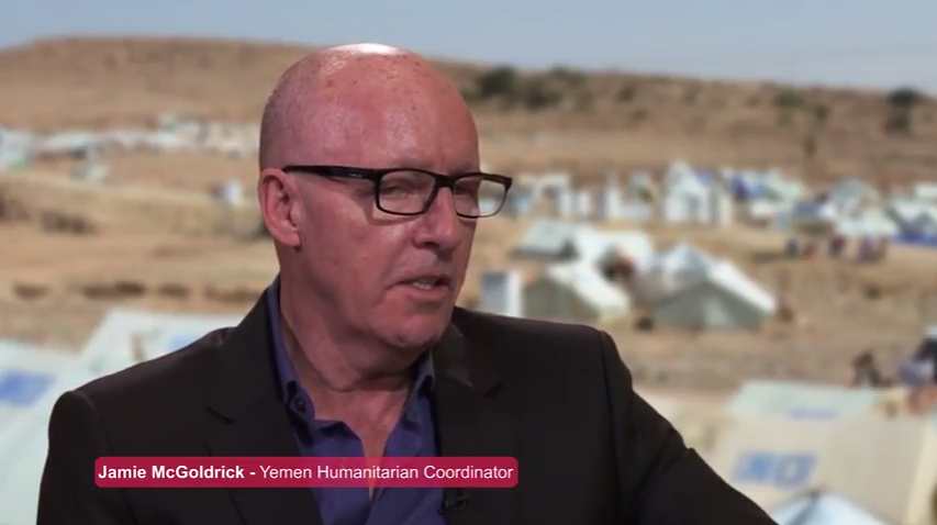 Jamie McGoldrick, Resident and Humanitarian Coordination in Yemen