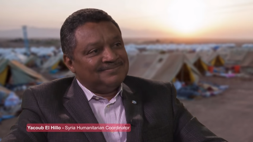Yacoub El Hillo, Resident and Humanitarian Coordination in Syria (2013-2016)