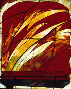 'Pentecost' from Windows of the Spirit, Church of the Holy Spirit, Lebanon