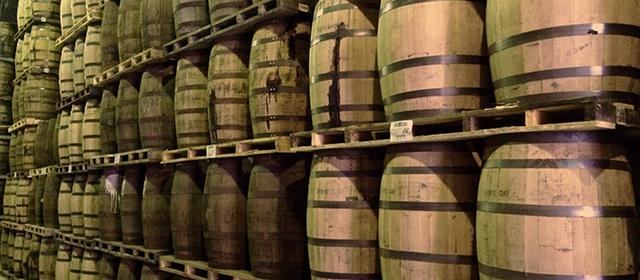 Canadian whisky - Crown Royal barrels
