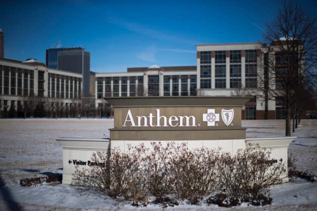 Shareholders at Anthem & Aetna recently voted down measures calling for greater disclosure of their political spending. Aaron P. Bernstein/Getty Images.
