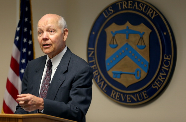 IRS Commissioner John Koskinen / Photo from Joe Raedle of Getty Images