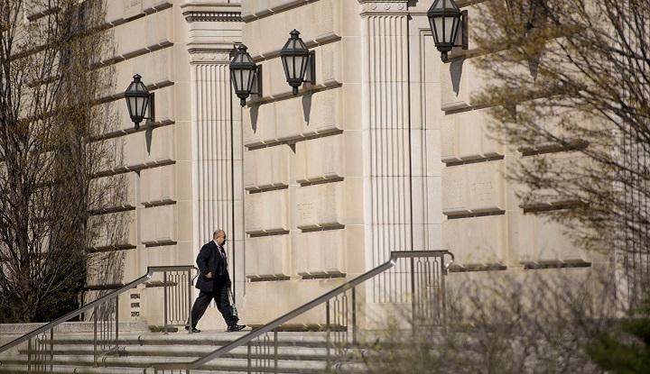 Internal Revenue Service headquarters. Getty Images / AFP / Brendan Smialowski