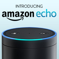 Amazon Echo is designed around your voice. Ask it for music, news, weather, information, and more. Get answers instantly. Learn more.