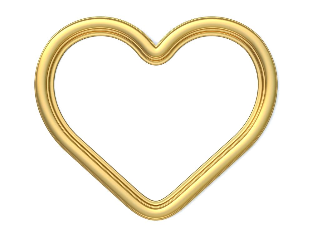 gold heart (2)