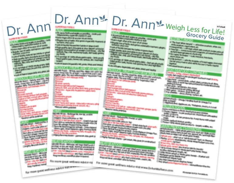 Grocery Guides  Dr Ann Wellness