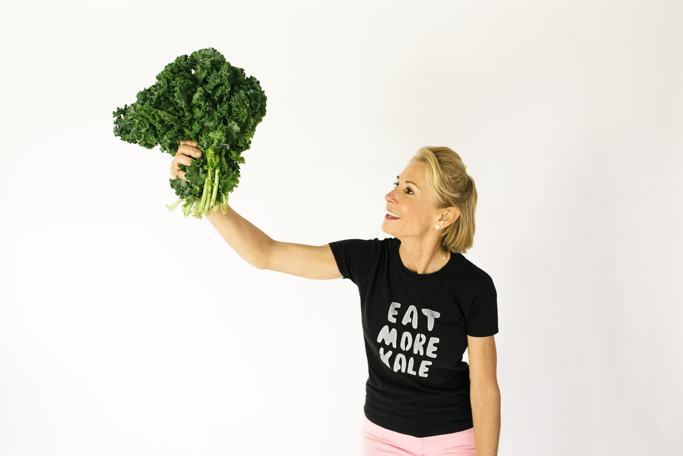 Eat More Kale Looking Up