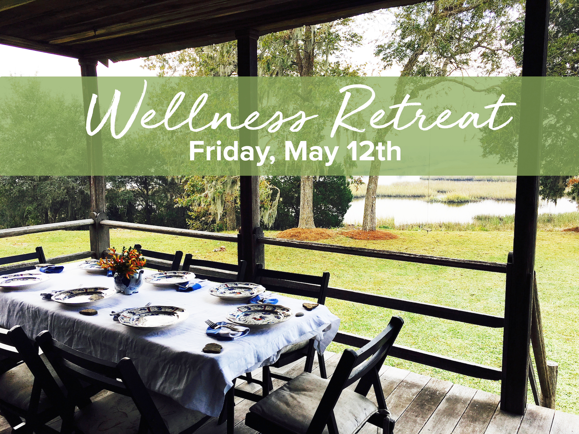 Wellness Retreat Flyer