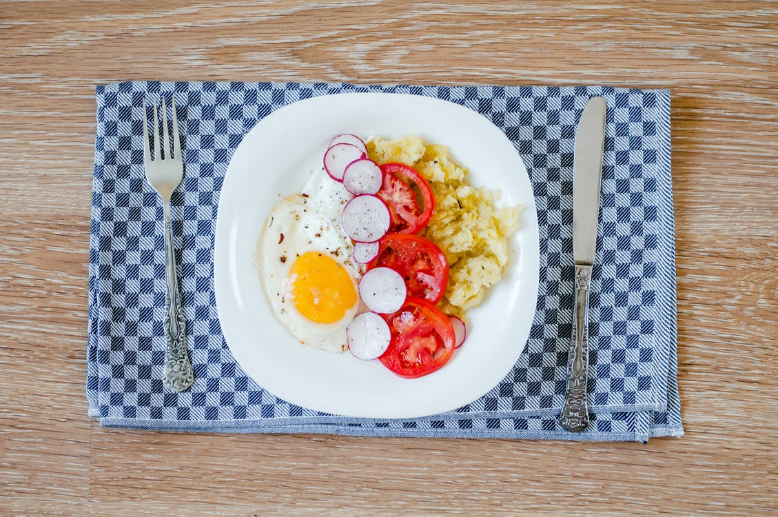 healthy breakfast lunch protein eggs