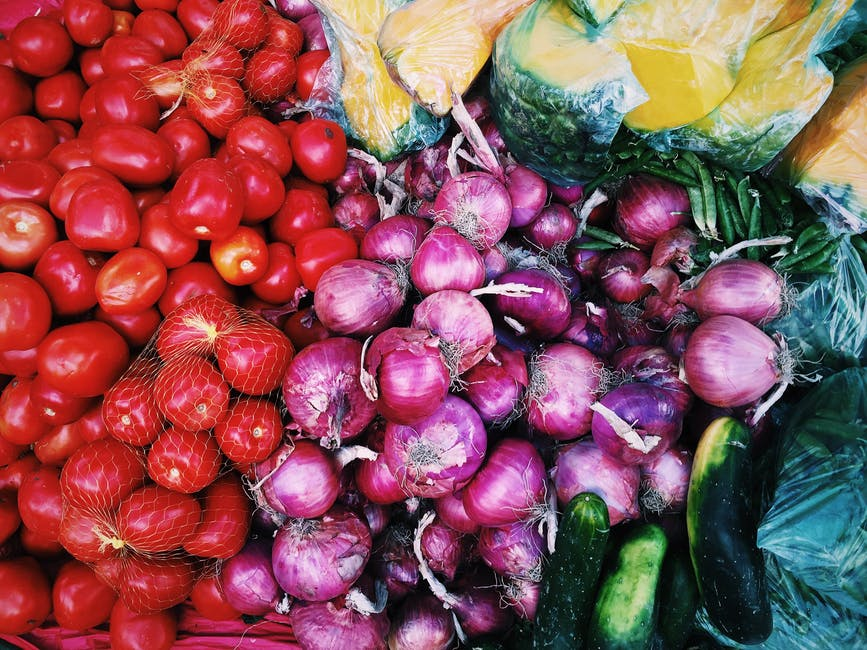 veggies vegetables colors