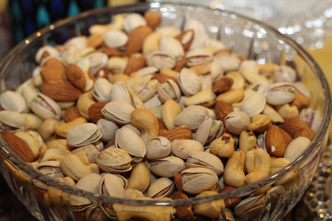 nuts almonds pistachio almond