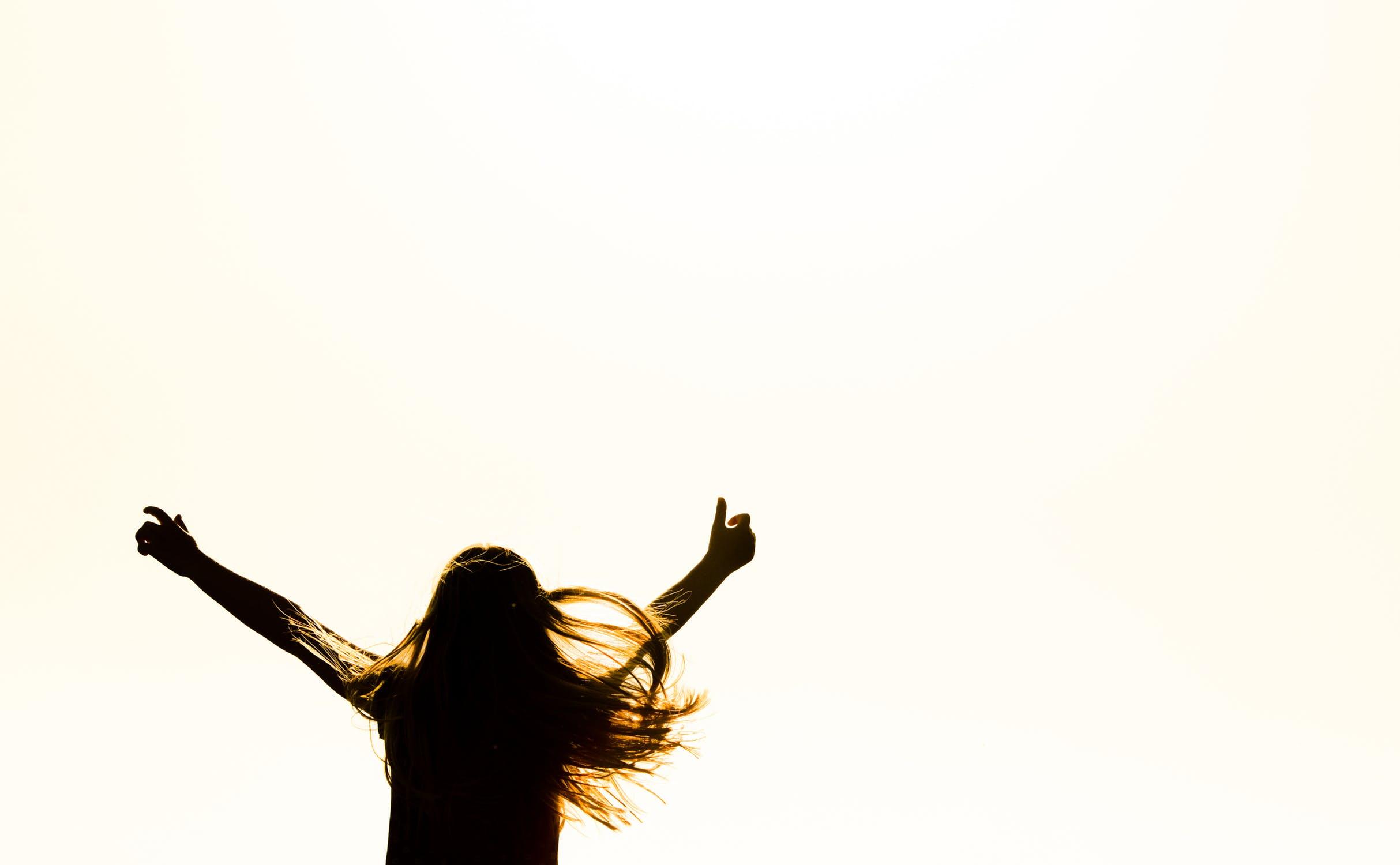 happy joy jump yay