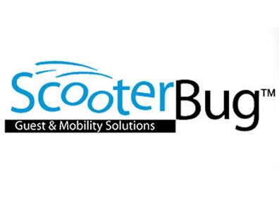 Scooterbug mobility scooters available at the bell desk