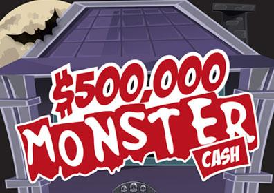 $500,000 Monster Cash Logo