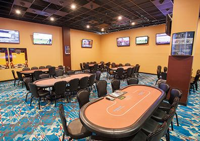 The Poker Room at Presque Isle Downs & Casino