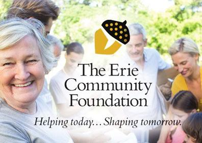 A group of people smiling for The Erie Community Foundation