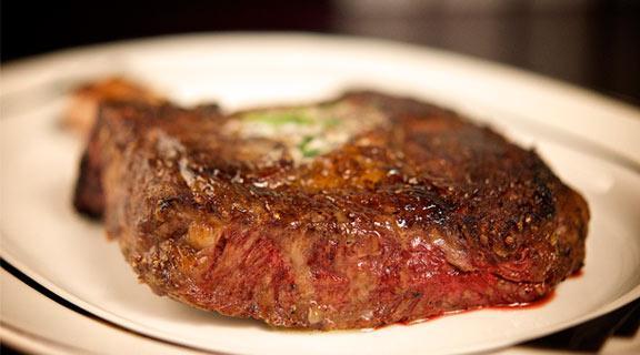 Ribeye at LBV Steak & Pasta