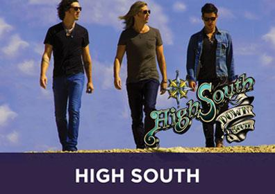 Advertisement for Live Weekend Entertainment at The Brew Brothers featuring High South