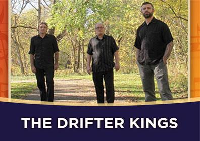 Advertisement for Rhythm & Brews at The Brew Brothers featuring The Drifter Kings