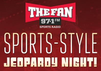 Photo of 97.1 The Fan's Sports-Style Jeopardy Event