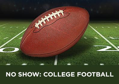 Advertisement for College Football Showing in Brew Brothers at Eldorado Scioto Downs