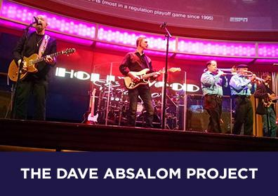 Photo of local rock band The Dave Absalom Project
