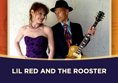 Promotional photo of the band Lil' Red & the Rooster